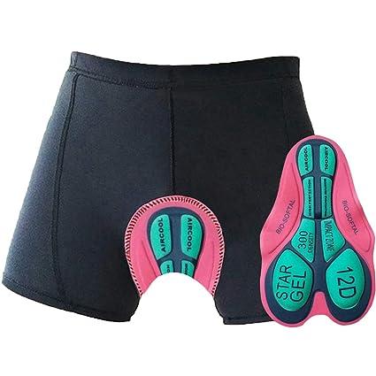 Comfort Cushion Pad 3D Padded f// Cycling Bicycle Bike Underwear Shorts Pants
