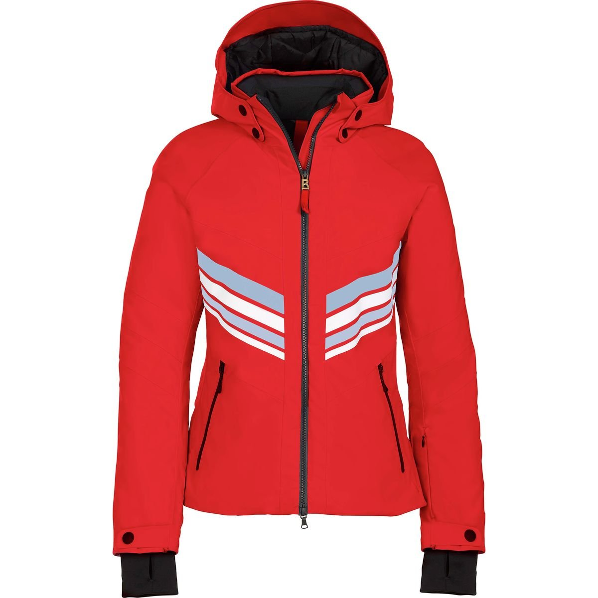 Bogner Fire + Ice Macie Womens Insulatedスキージャケット B077JPX6RS  レッド(Fire Red) 10