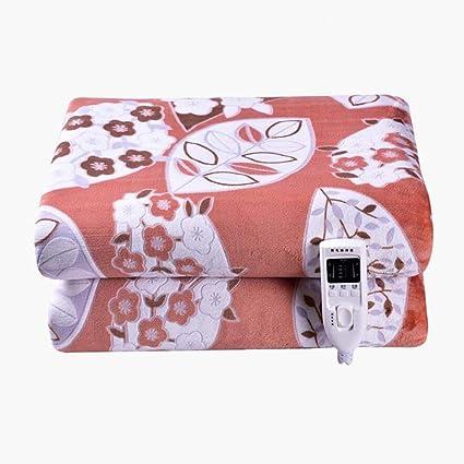 Manta eléctrica, 180 * 200 cm Tamaño Rey de control de doble manta de seguridad