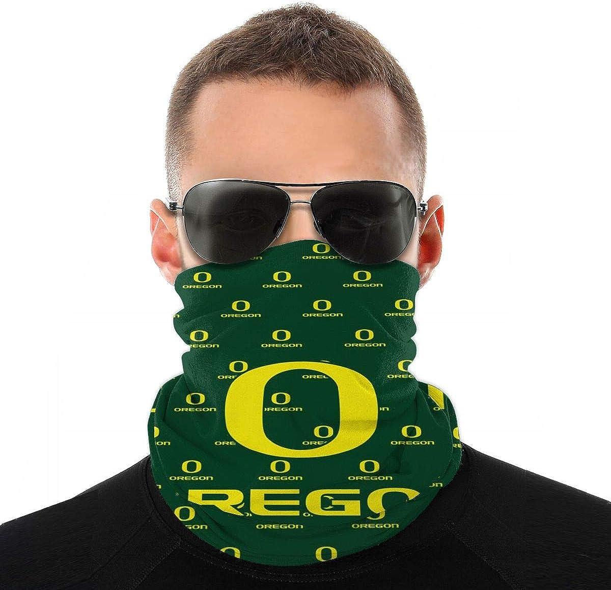 MADISON GRIFFITHS Bandana Face Mask American State Oregon Dustproof Windproof Variety Head Scarf Balaclava For Women Men