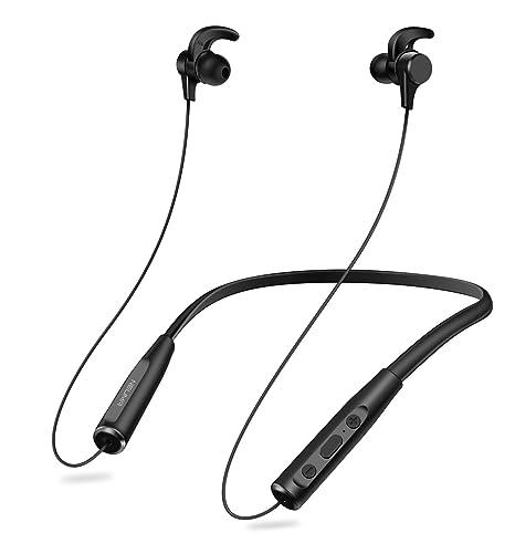 Auriculares Bluetooth 4.1 Inalámbricos con Magnéticos Neckband con Cancelación de Ruido Doble Batería Reproducción de 20