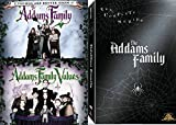 Creepy & Spooky Funny Movie and Complete TV Series Collection - The Addams Family- Addams Family Values 3 Movie Collection- DVD Bundle