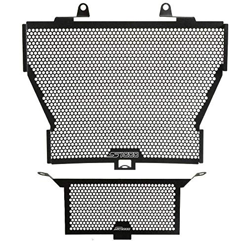 S1000RR Motorcycle Radiator Grille Cover & Oil Kit Guard For BMW S1000R 2014-2017 BMW S1000RR 2010-2017 BMW HP4 2012-2014 BMW S1000XR 2015-2017(Black)