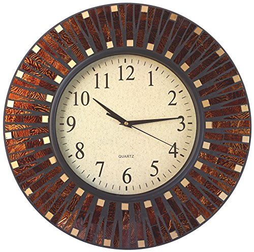 Dot Clock Brown - Lulu Decor, 16