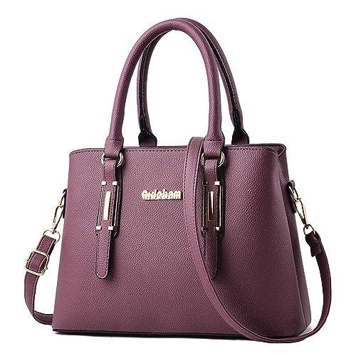 b9b9c2c32 XMY Bolso de mujer, bandolera colgada, cuero, suave, cuero, gran capacidad,  C: Amazon.es: Zapatos y complementos