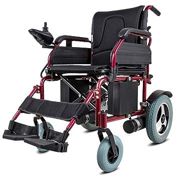 Huizz Sillas de Ruedas eléctricas Plegables para sillas de ...