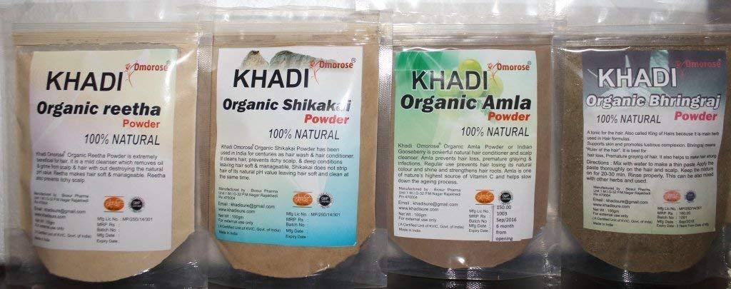 Amazon.com : Khadi Hair Wash Powder (Dry Shampoo) 100 gms