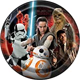Unique 59415 Star Wars Paper Party Plates, 8-Count