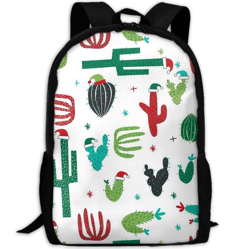 Student Backpack, School Backpack for Laptop,Most Durable Lightweight Cute Cute Cute Travel Water Resistant School Backpack - Christmas Cactus B07PXB8QPC Daypacks Langfristiger Ruf 3d0d76