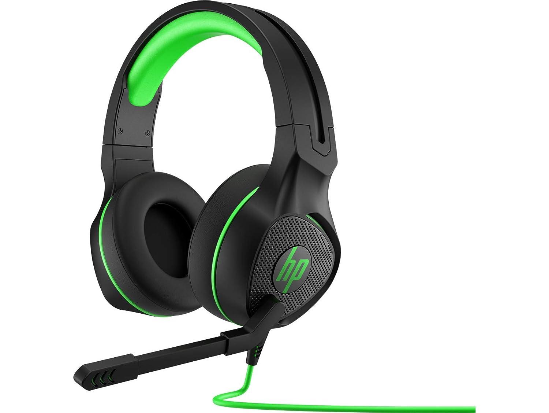 HP Pavilion Gaming 400 Headset Binaural Bandeau Noir, Vert - Casques Audio (PC/Jeux, Binaural, Bandeau, Noir, Vert, Rotatif, avec Fil)