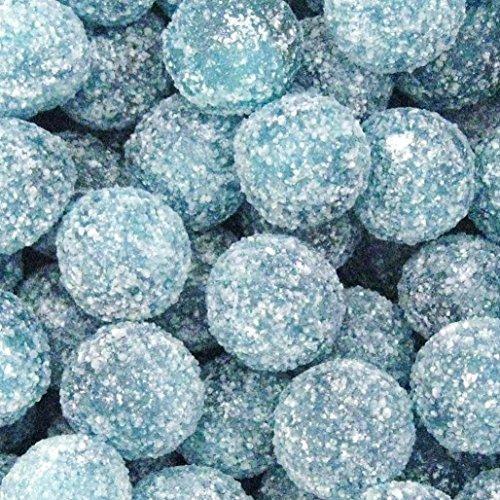 Mega Sour Raspberry Fizz Bombs 500 Gram Bag (1/2 Kilo) / 17.6 (Mega Sour)