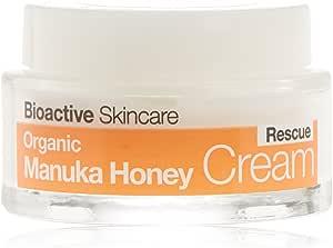 DR ORGANIC Rescue Cream Organic Manuka Honey, 50 Milliliter