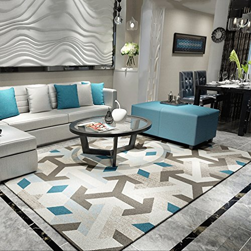 WAN SAN QIAN- Alfombra Alfombra rectangular para sala de estar Alfombra creativa para dormitorio 80x120cm Alfombra ( Color :...