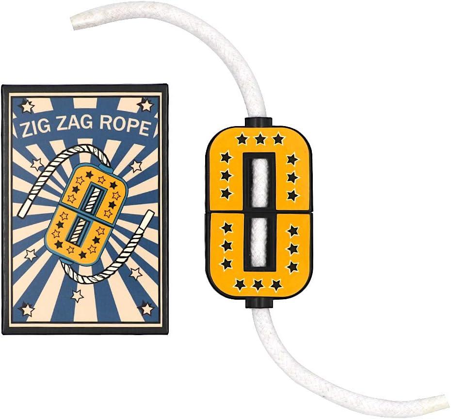 Magician/'s Zig Zag Rope Close Up Classic Cut /& Restore Rope Magic Trick