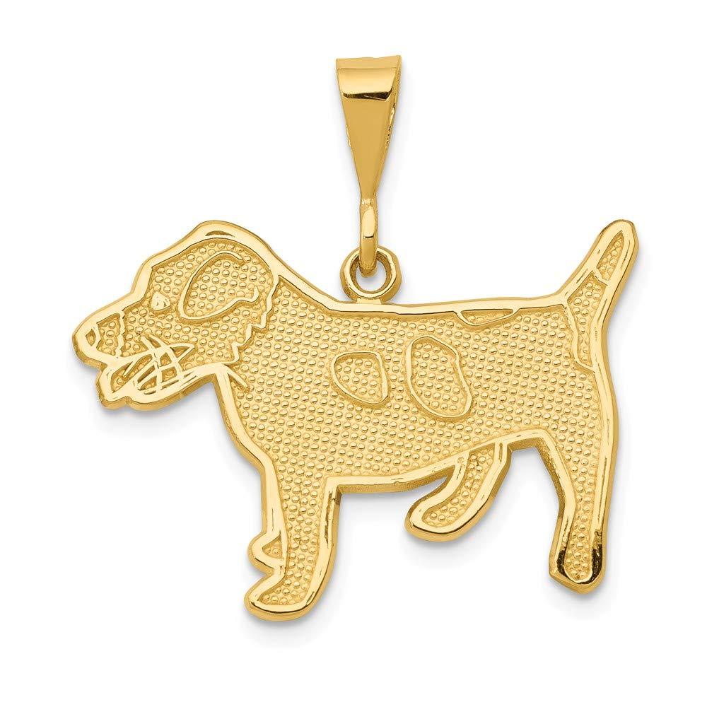 14k Jack Russell Terrier Dog Pendant