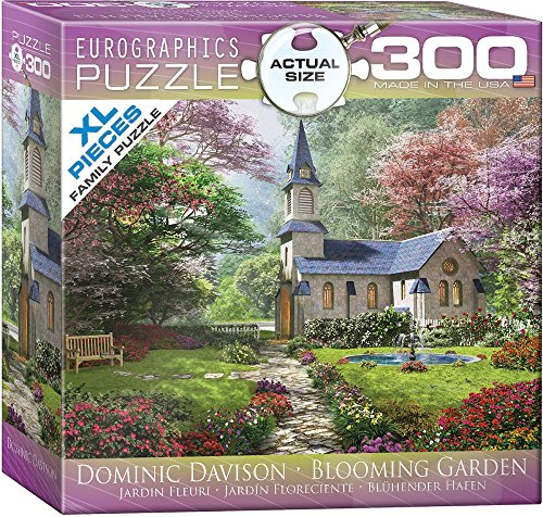 EuroGraphics Blooming Garden by Dominic Davison 300-Piece Puzzle (Small Box)