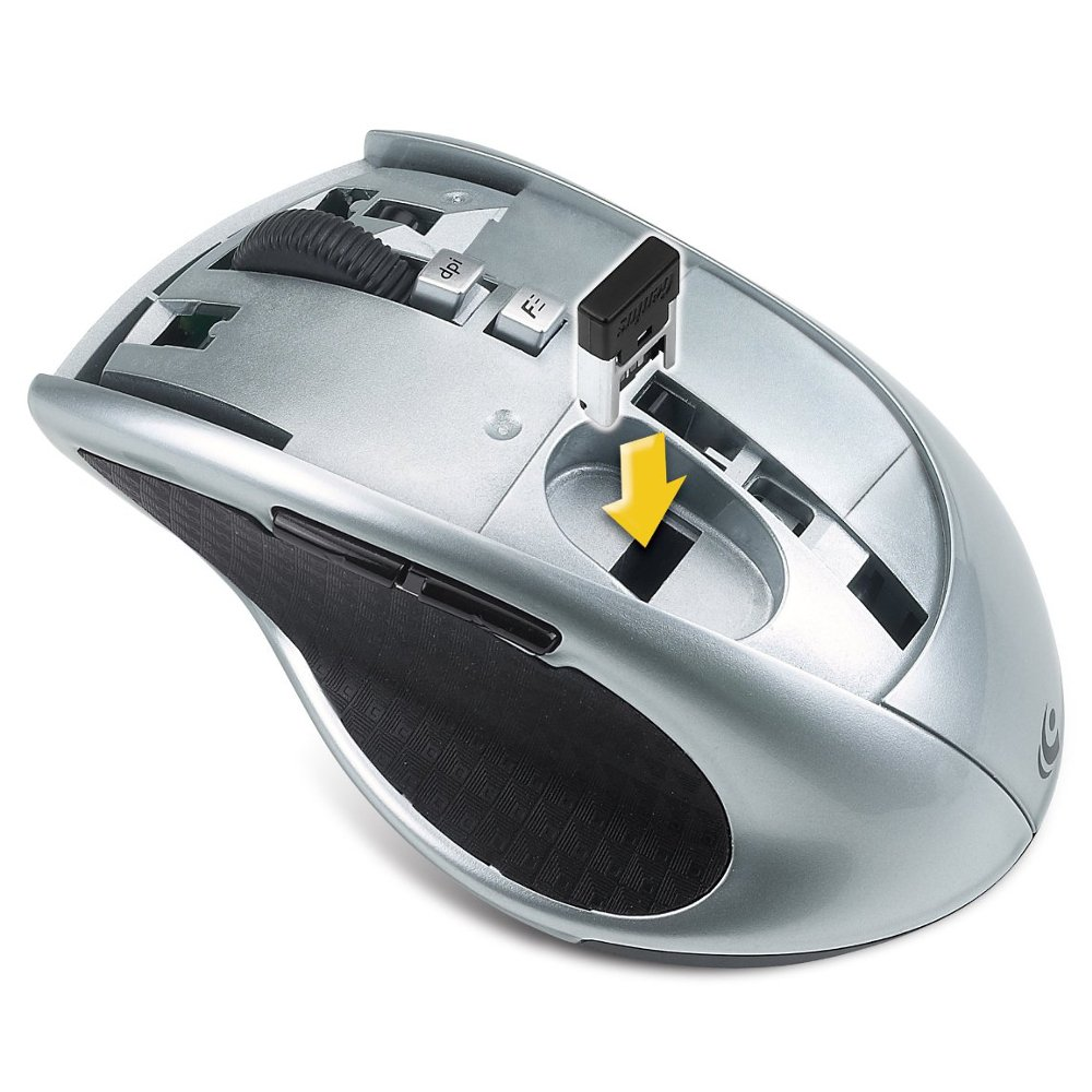 Genius Eco Friendly Battery Free Mouse Blue Wireless Computers Accessories