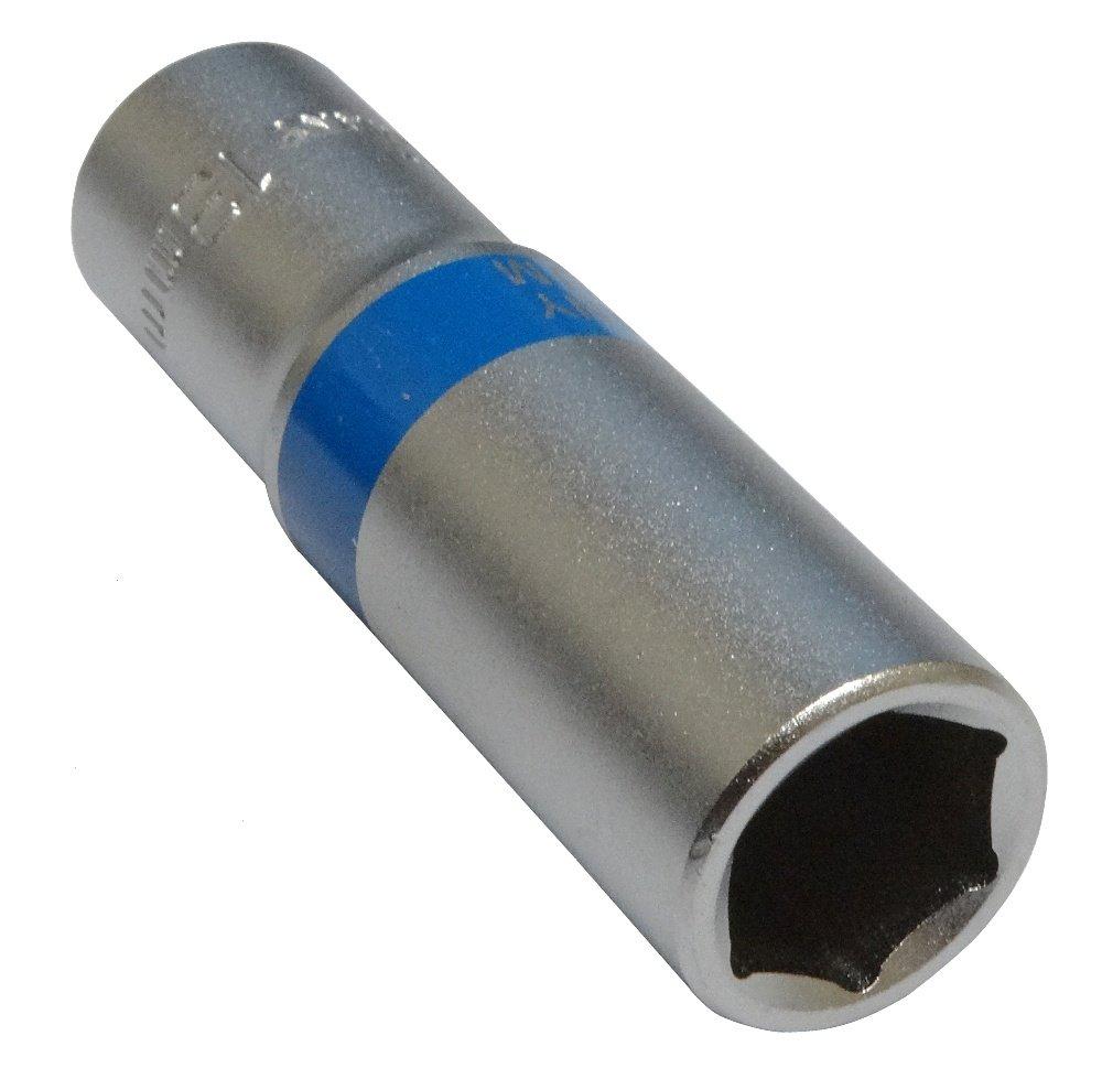 AERZETIX: Llave de vaso largo 13mm 3/8' hexagonal C4215 3800946187066