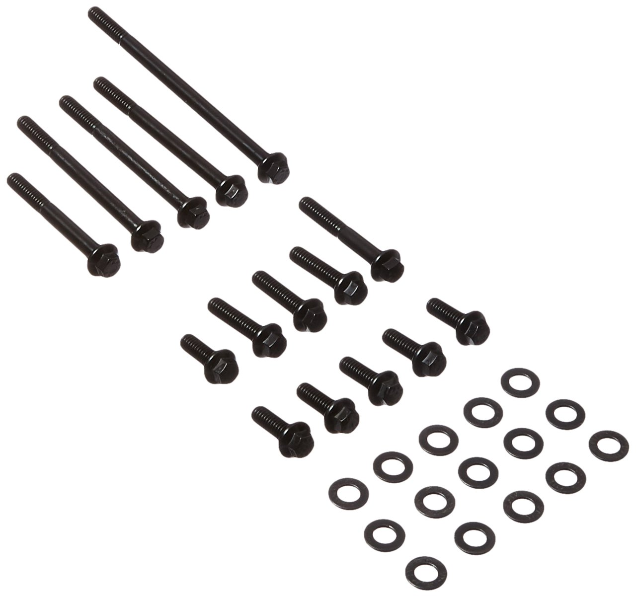 ARP 1541504 Black Oxide Timing Cover And Water Pump Hex Bolt Kit by ARP