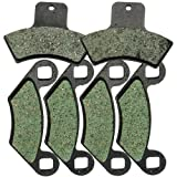 Foreverun Motor Front and Rear Brake Pads for Polaris 500 Sportsman Worker RSE EBS 1998-2002