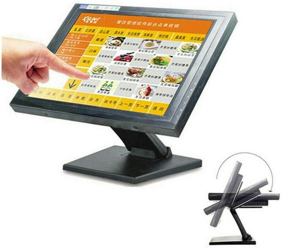 POS - Monitor LCD táctil para caja registradora (15 pulgadas ...