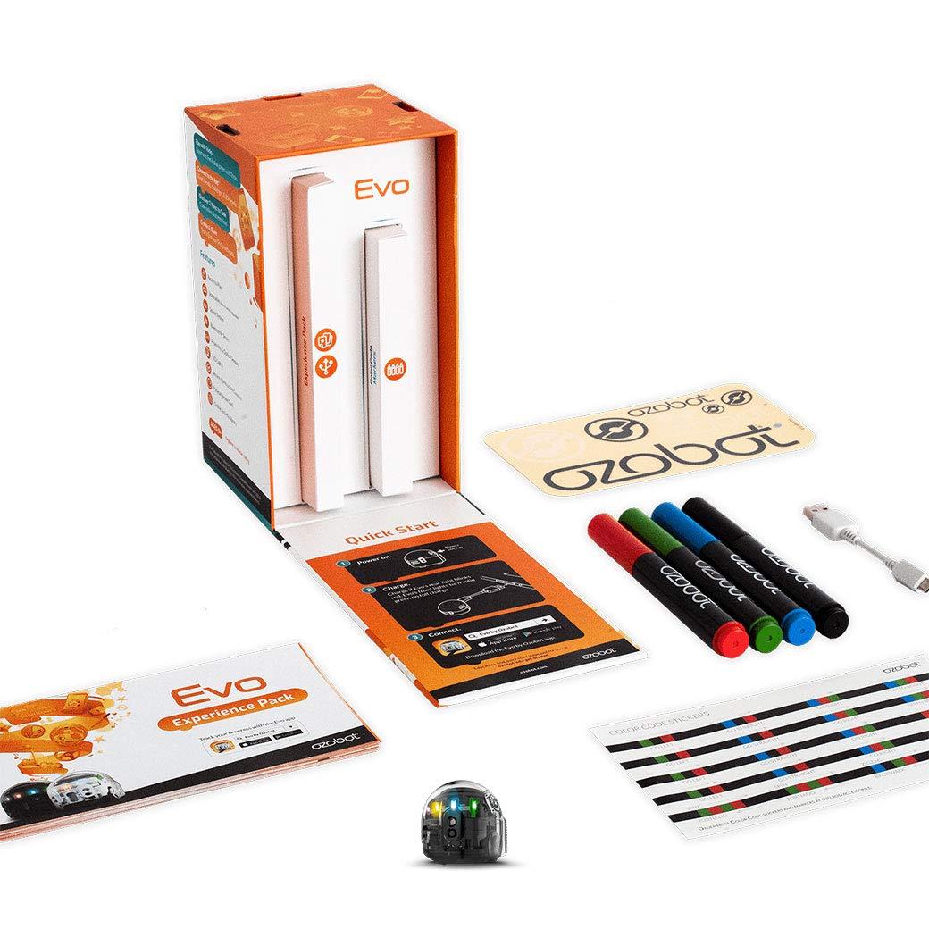 Ozobot Evo Starter Pack, Titanium Black by Ozobot (Image #2)