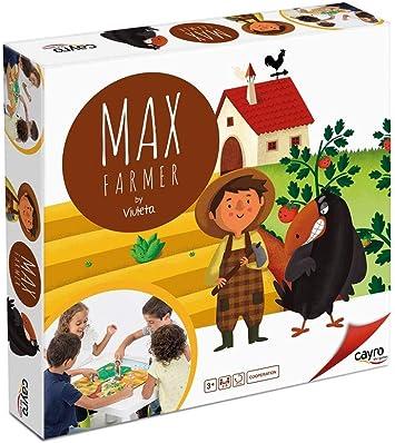 Cayro - MAX Le Fermier - Juego cooperativo - Juego de Mesa - Desarrollo de Habilidades cognitivas e inteligencias múltiples - Juego de Mesa (882): Amazon.es: Juguetes y juegos