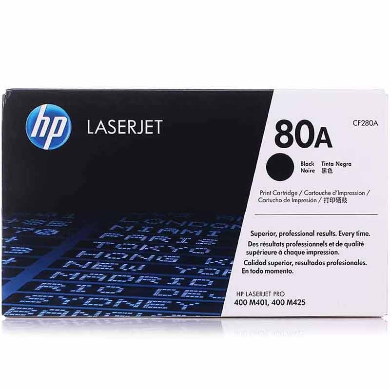 HP 80A (CF280A) Black Original Toner Cartridge
