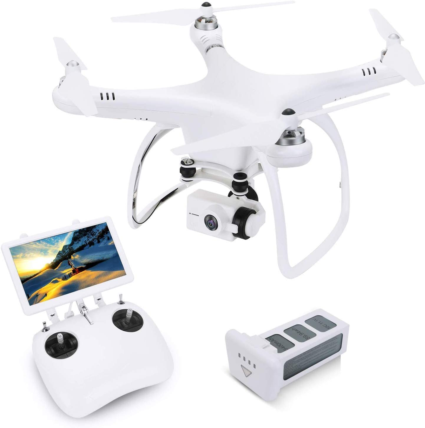 UPAIR One Drone 2.7K with 7 inch Screen