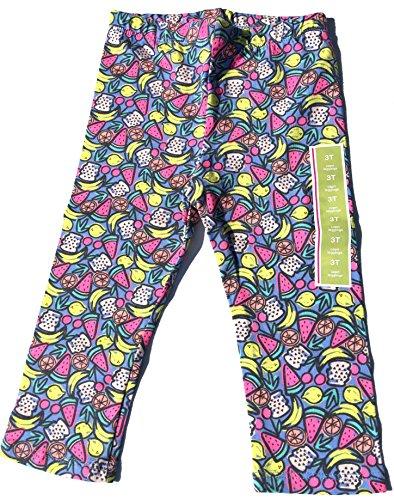 Fruit Print Capris Leggings 3T - Girls Circo Bow