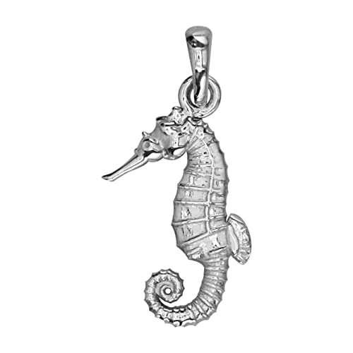 Small Seahorse Charm in Sterling Silver Sziro Jewelry Designs