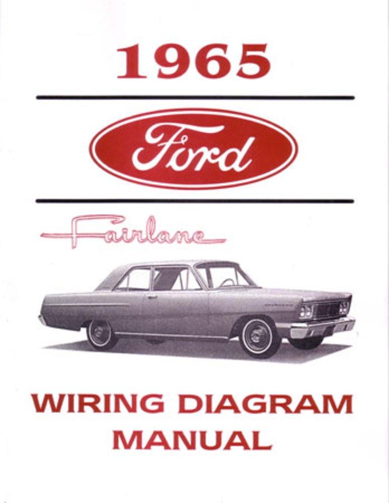 1965 ford fairlane electrical wiring diagrams schematics mechanic book oem,  tools & equipment - amazon canada