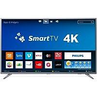 TV LED Smart Ultrafina 4K, Philips 50PUG6513/78, Prata