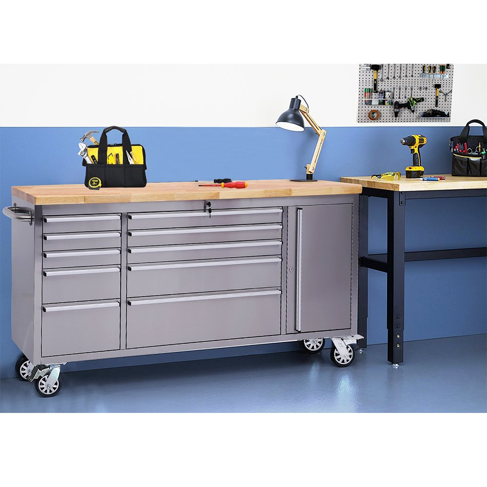 workbench from drawer metal storage garden drawers rolling seville with image garages