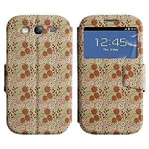 LEOCASE flor linda Funda Carcasa Cuero Tapa Case Para Samsung Galaxy S3 I9300 No.1003974