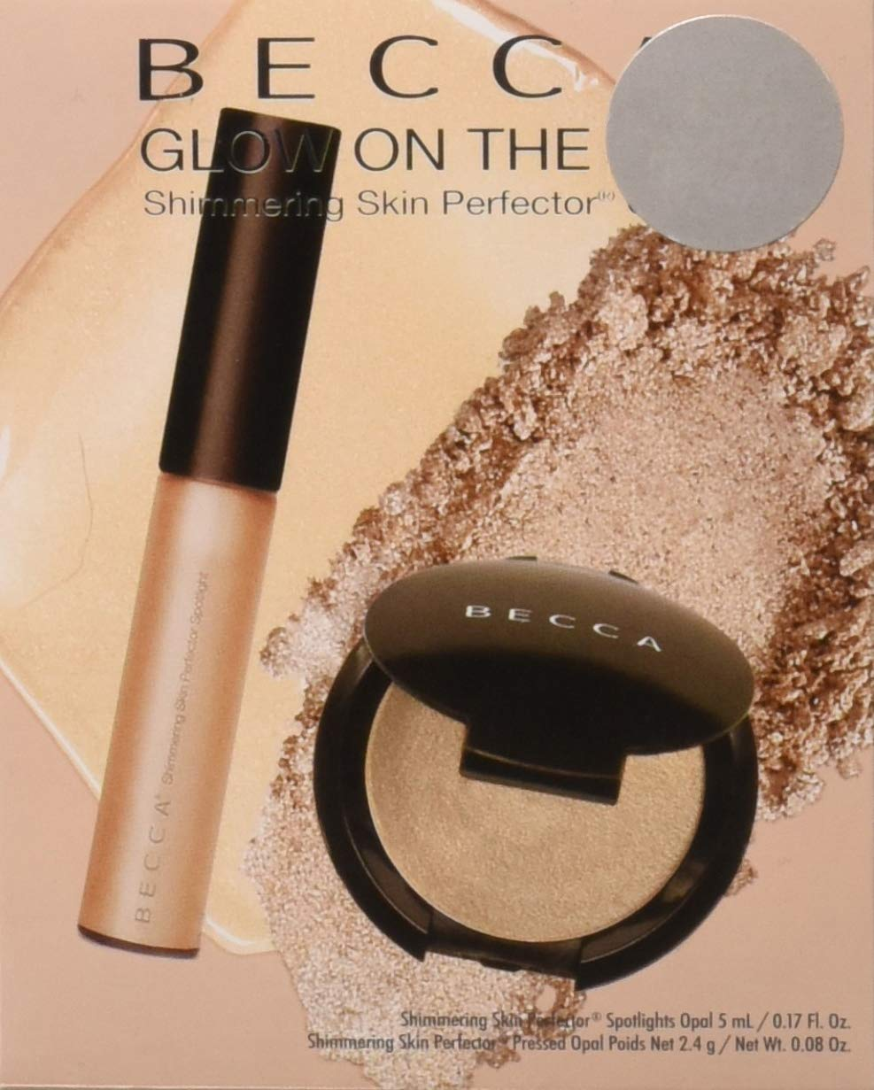 Becca 2 Piece Opal Glow On The Go Shimmering Skin Perfector Set, 1.2 Ounce by Becca (Image #1)