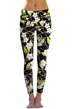 12c824d199363 PineappleClothing Activewear Running Yoga Leggings Dry-Fit Workout Printed  Pants