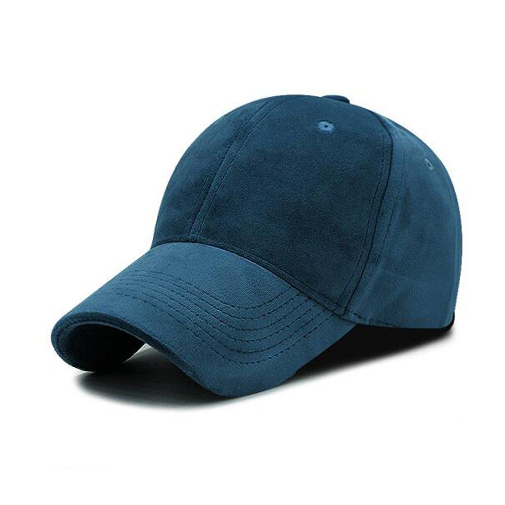 e21b81ee6 Urchart Unisex Velvet Baseball Cap Women Men Leisure Visor Hats ...