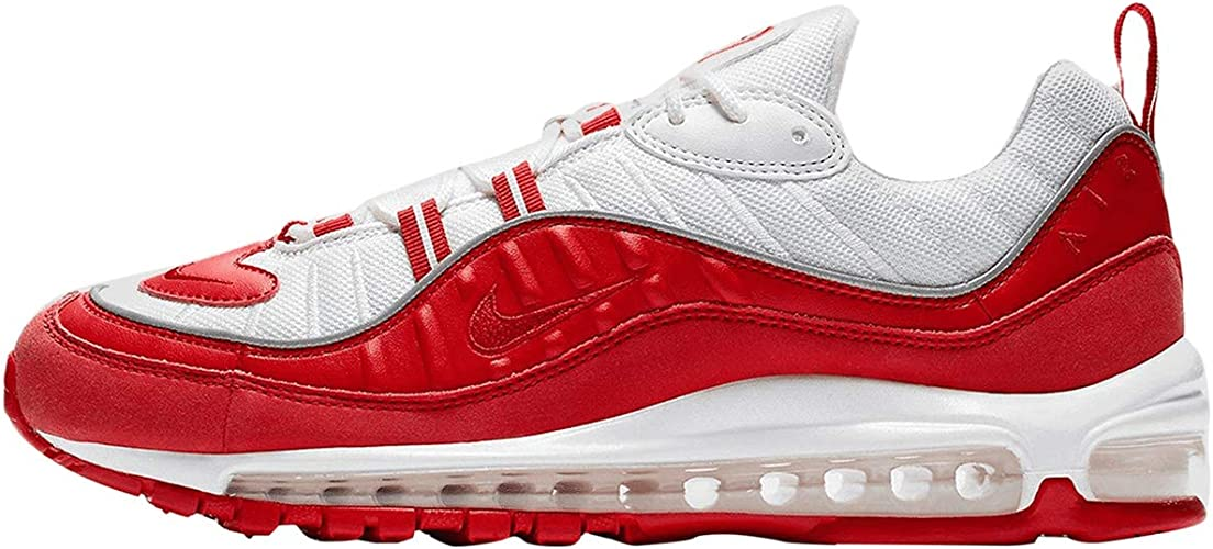 Nike Uomo Air Max 98 University Red 640744-602 Bianco/Rosso 7,5 ...
