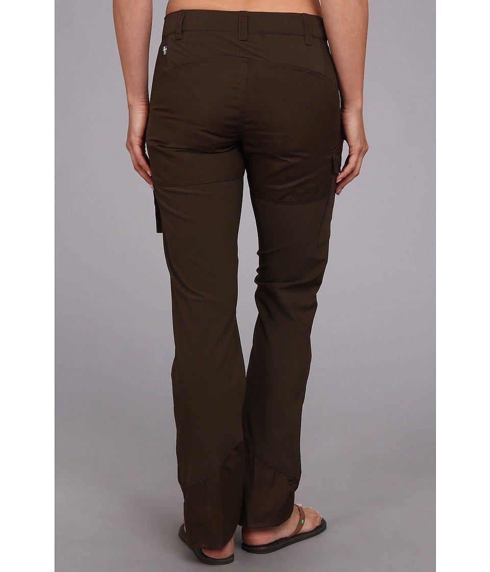 Fjallraven Women's Nikka Trousers, Dark Olive, 44
