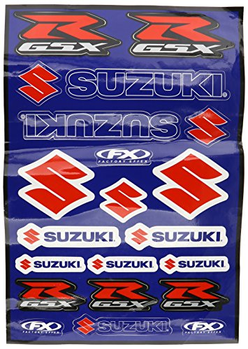 Factory Effex 15-68400 OEM Universal Graphic Kit for Suzuki - Factory Effex Decals