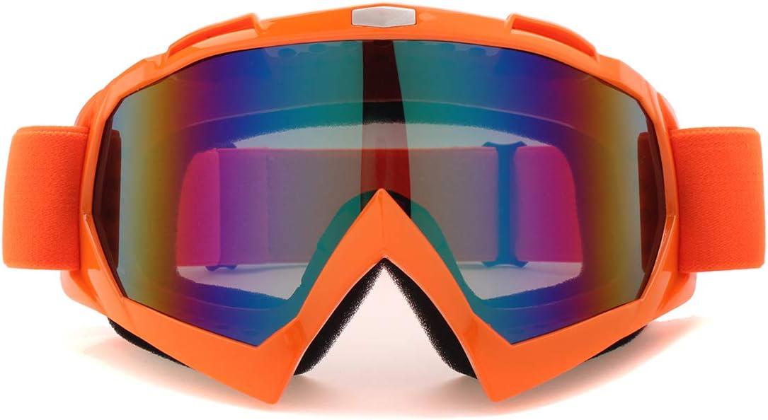 Colorido Viviance Off-Road Motocross Racing ATV Dirt Bike Motos De Esqu/í Gafas De Gafas Lente