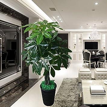 Große Topfpflanze simulation Pflanzen Wohnzimmer Büro in ...
