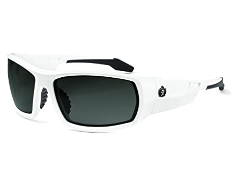 7d218b10c82 Image Unavailable. Image not available for. Color  Ergodyne Skullerz Odin  Polarized Safety Sunglasses - White Frame ...