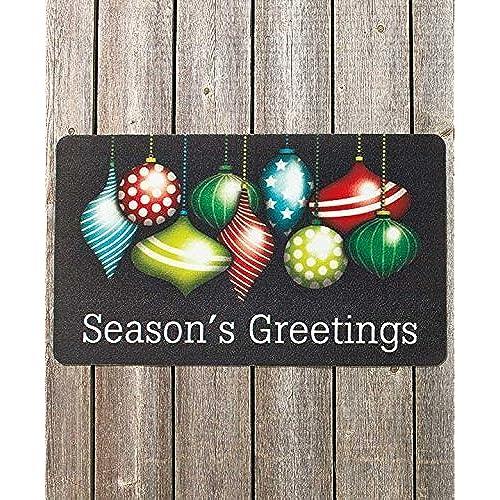 Christmas Front Door Mat Amazon