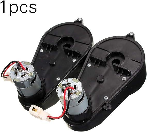 Gesteam Dc 12 / 6V Motor Eléctrico Caja de Engranajes Accionamiento del Motor Six Plum Universal Metal Motor Accesorio para Niños Ruedas de Potencia Coche, Rs55012V Rpm: 30000Rmp: Amazon.es: Bricolaje y herramientas