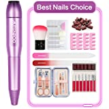 AUTENPOO Nail Drill, Electric Nail File for Acrylic Nails, Acrylic Nail Drill with Acrylic Nail Kit, Efile Nail Drill…
