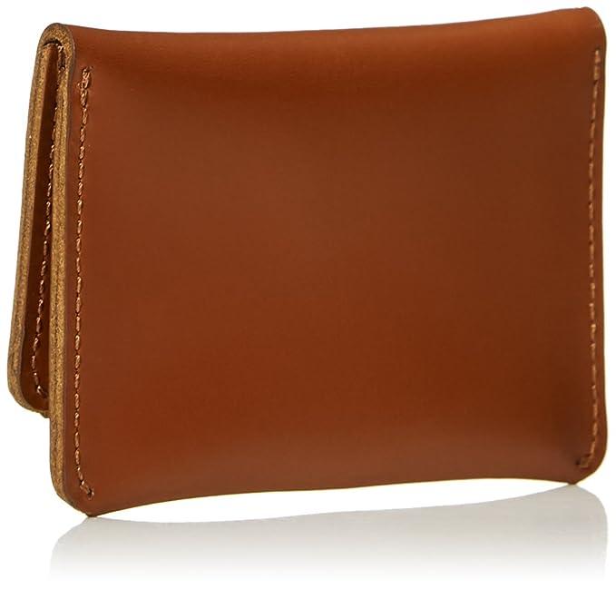 30f79b34750a Amazon.com  Designer Bifold Wallet for Men - Filgate Men s Bifold Leather  Wallet Two Pockets Simple Wallet Tan  Clothing