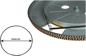 Tocadiscos cinturón de 0,5 mm de grosor por 5 mm de ancho ...