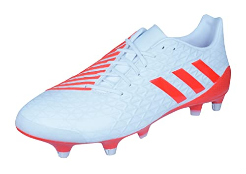 adidas Predator Malice SG Mens Rugby Boots-White-6  Amazon.co.uk  Shoes    Bags 352c47222